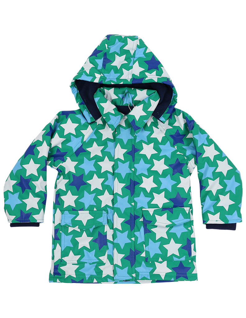 A1160G Raincoats Stars Raincoat-Rain Wear-Korango_Australia-Kids_Fashion-Children's_Wear