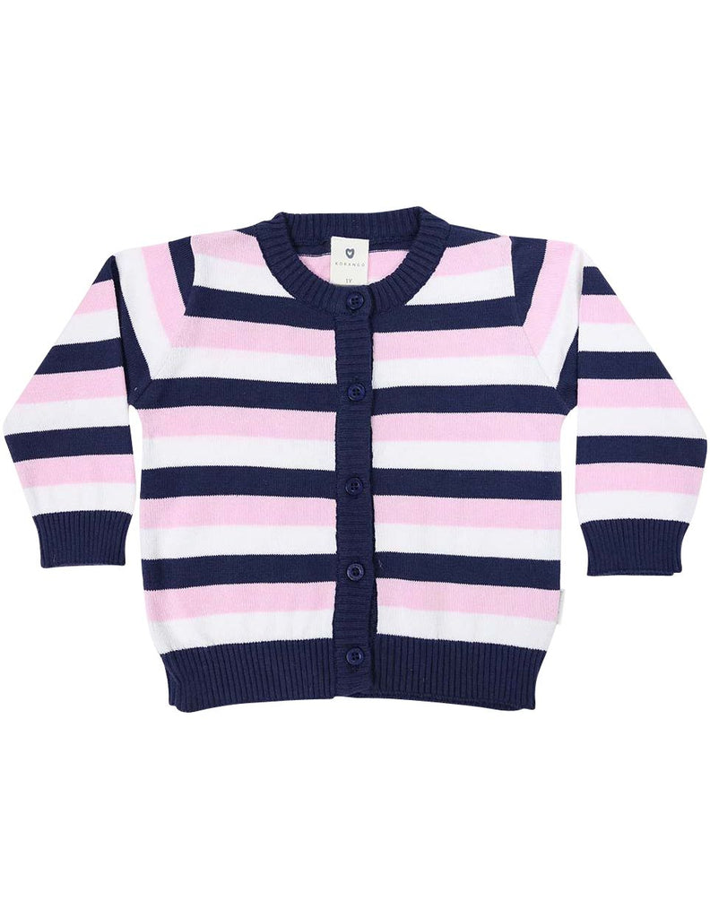 A1217S Cardigan-Cardigans/Jackets/Sweaters-Korango_Australia-Kids_Fashion-Children's_Wear