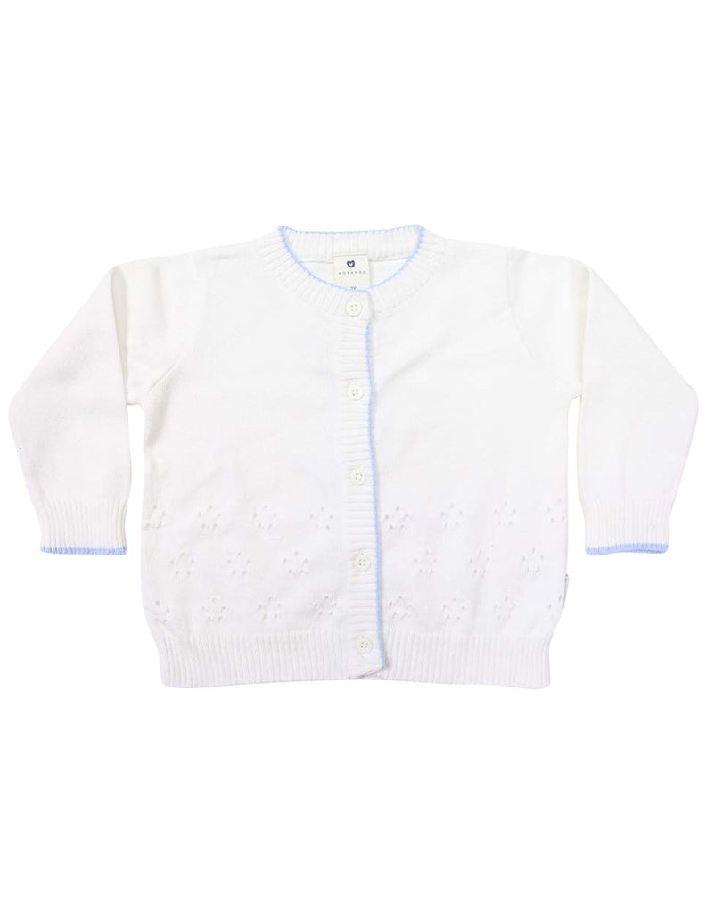 C1238W Cardigan-Cardigans/Jackets/Sweaters-Korango_Australia-Kids_Fashion-Children's_Wear