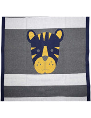B13008N Little Tiger Little Tiger Knit Blanket (100cm X 80cm)
