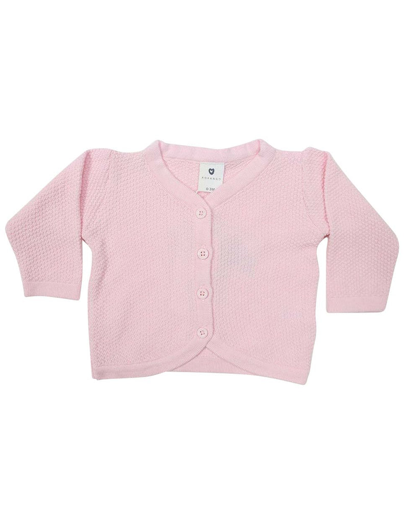 C1216P Cardigan-Cardigans/Jackets/Sweaters-Korango_Australia-Kids_Fashion-Children's_Wear