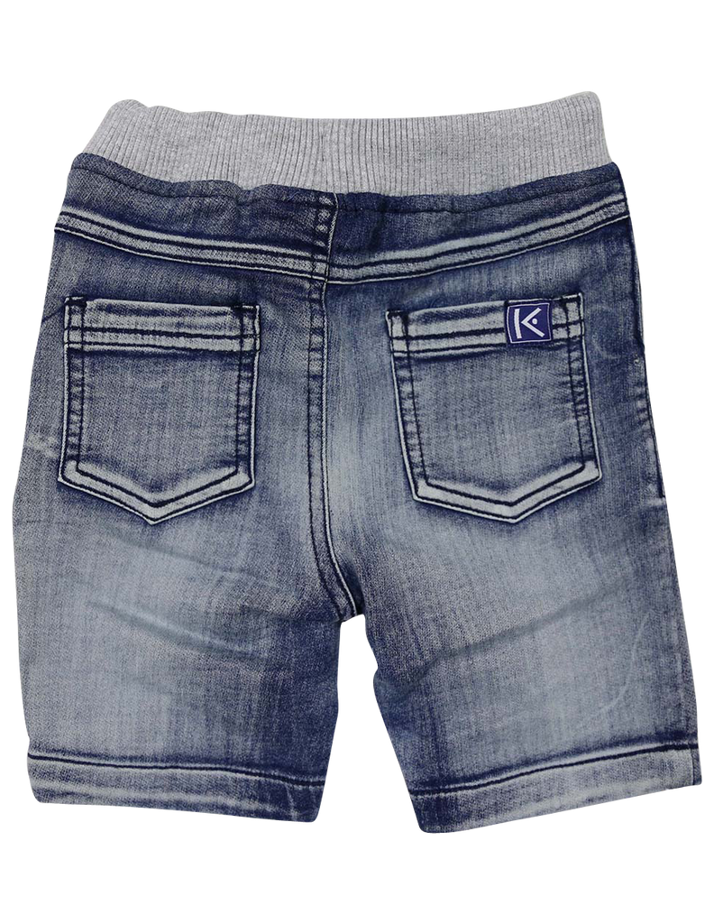 A1224L Denim Knit Short-Pants & Shorts-Korango_Australia-Kids_Fashion-Children's_Wear