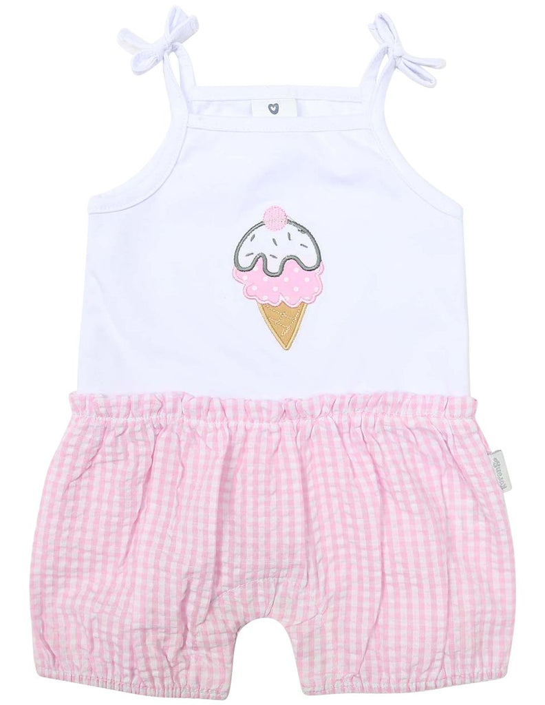 B1218P Ice Cream Playsuit-All In Ones-Korango_Australia-Kids_Fashion-Children's_Wear