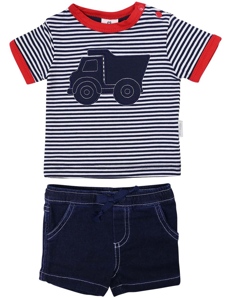 B1213R Tip Truck Top & Short-Sets-Korango_Australia-Kids_Fashion-Children's_Wear