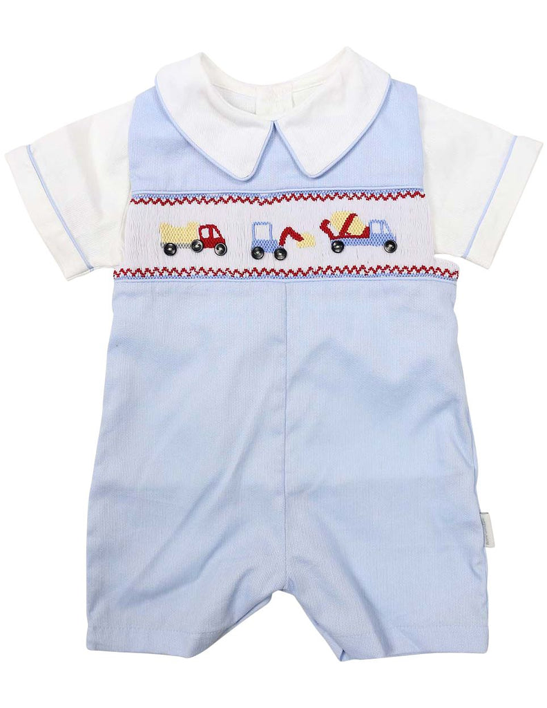 C1208B Truck Pique Overall & Top-Sets-Korango_Australia-Kids_Fashion-Children's_Wear