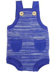 B1217B Knit Fleck Sunsuit-All In Ones-Korango_Australia-Kids_Fashion-Children's_Wear