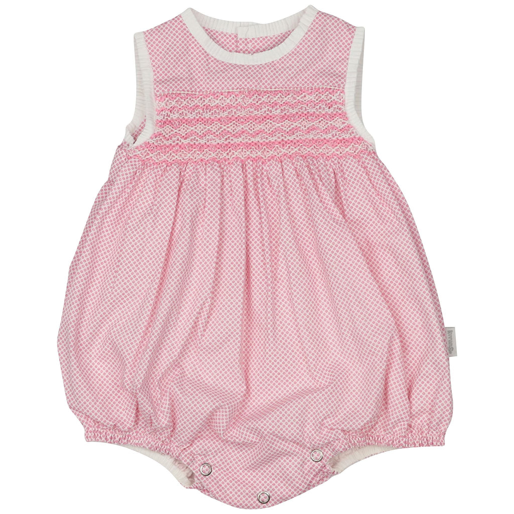 C1402P Summer Style Classic Smocked Sunsuit
