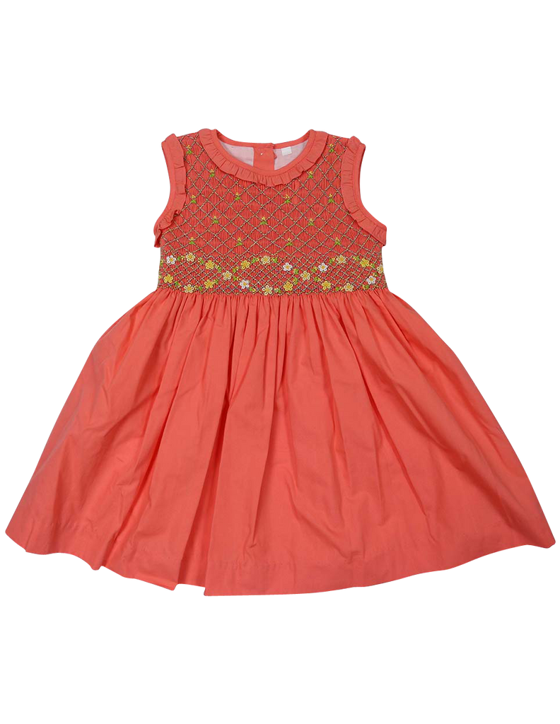 C1430S Party Dresses Smocked Dress