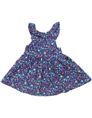 A1248B Floral Dress-Dress-Korango_Australia-Kids_Fashion-Children's_Wear