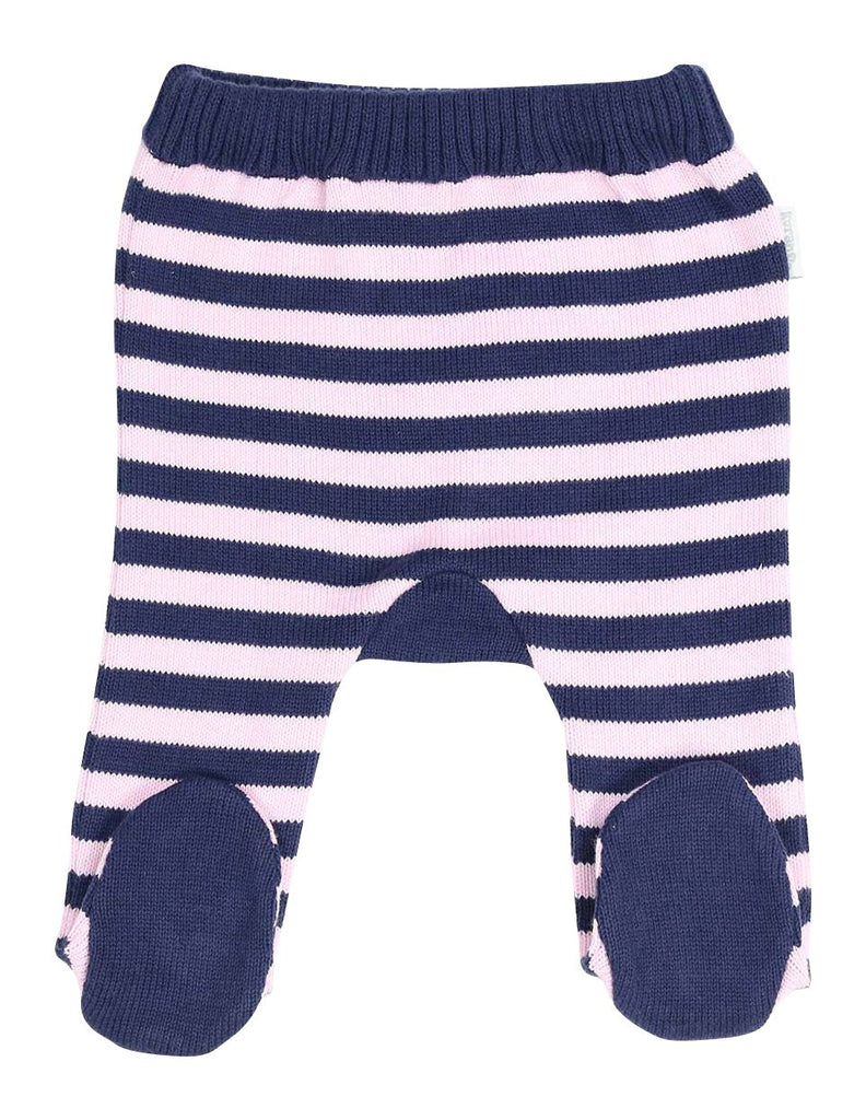 B13012P Swan Princess Stripe Knit Legging