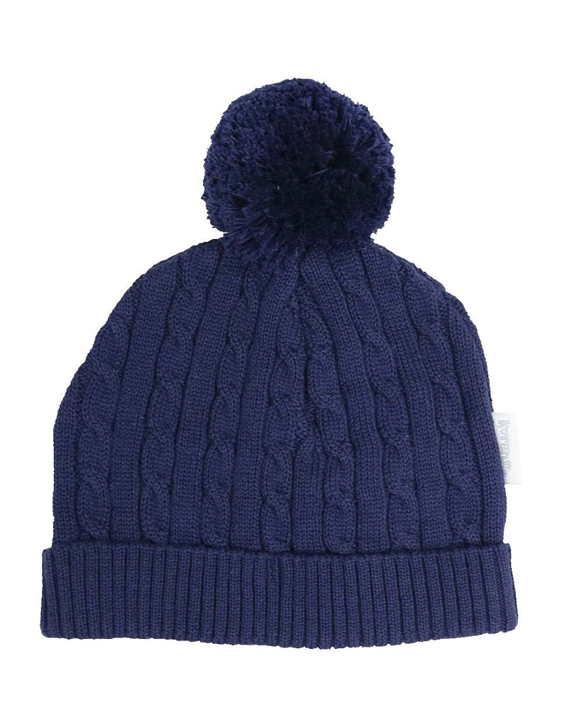 C13024N Classique Boy Knit Beanie with Pom Pom