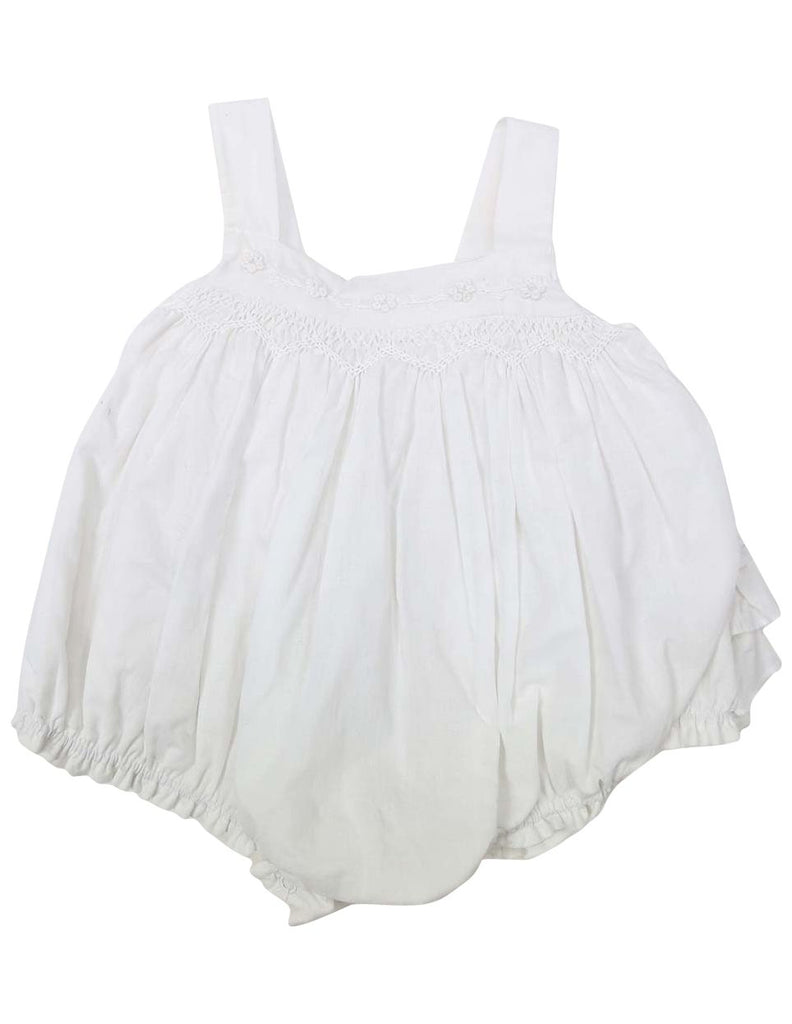 C1204W Rosette Sunsuit-All In Ones-Korango_Australia-Kids_Fashion-Children's_Wear