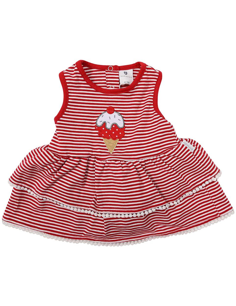 B1220R Ice Cream Dress-Dress-Korango_Australia-Kids_Fashion-Children's_Wear
