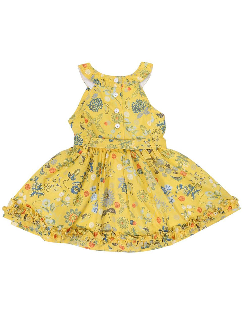 A1248Y Floral Dress-Dress-Korango_Australia-Kids_Fashion-Children's_Wear