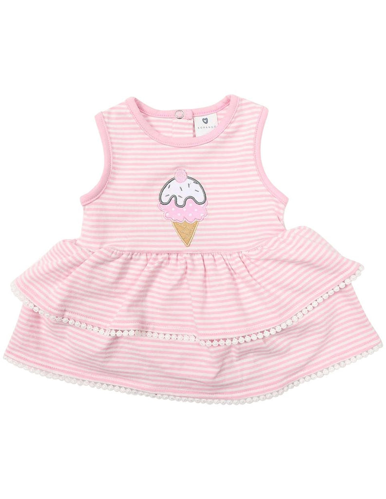 B1220P Ice Cream Dress-Dress-Korango_Australia-Kids_Fashion-Children's_Wear