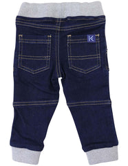 A1222D Denim Knit Jean-Pants & Shorts-Korango_Australia-Kids_Fashion-Children's_Wear
