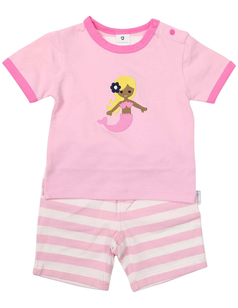 B1230G Mermaid PJs-Sleepwear-Korango_Australia-Kids_Fashion-Children's_Wear