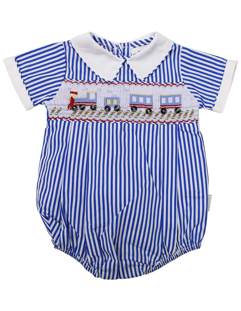 C1221B Train Sunsuit-All In Ones-Korango_Australia-Kids_Fashion-Children's_Wear