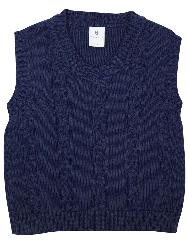C1429N Pilot People Knit Vest