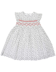 C1431W Party Dresses Smocked Dress