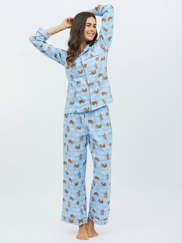 Adorable Cat Nightwear
