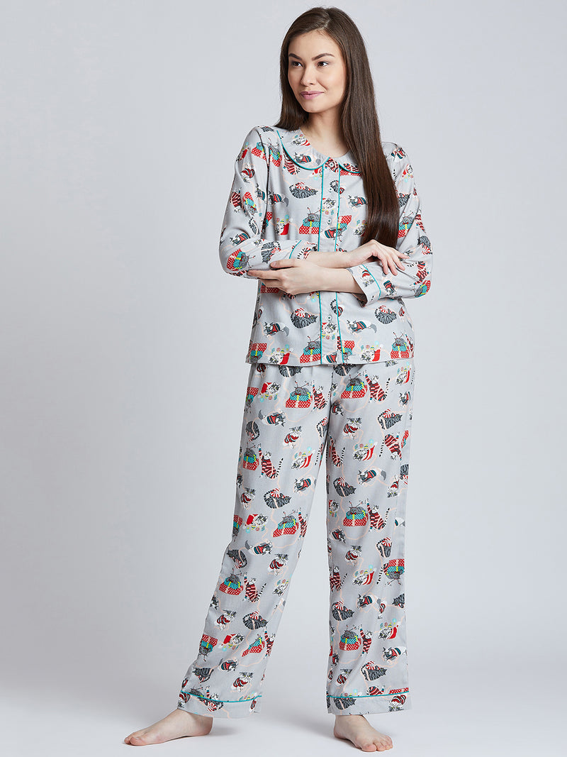 Meow Cat Nightwear
