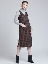 Brown Scottish Dungaree