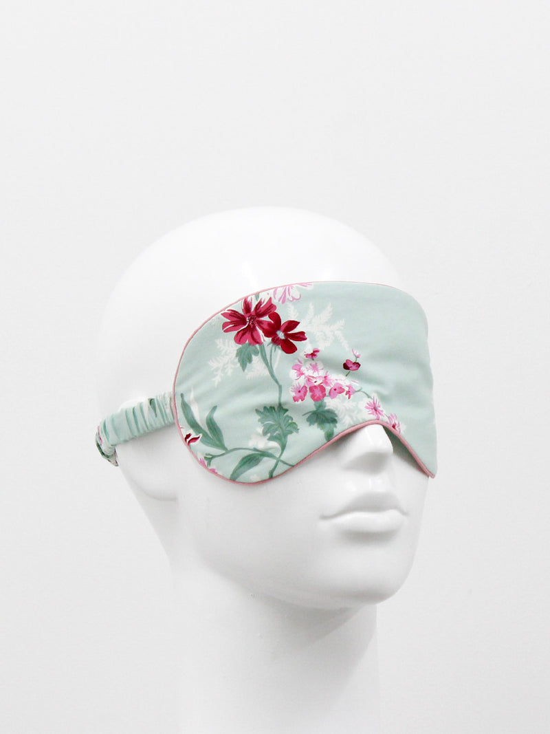 Vintage Green Eye Mask