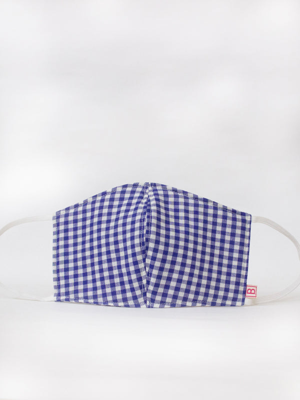 Gingham Check Mask