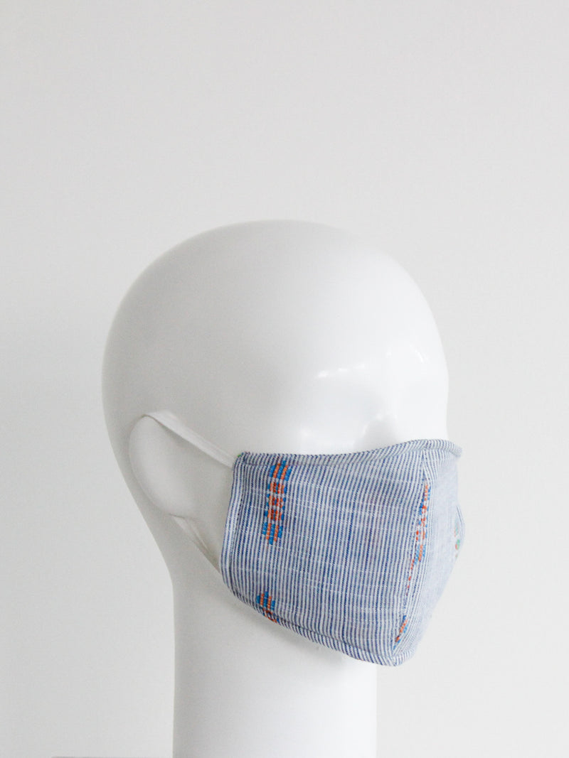Perfect Blue Mask