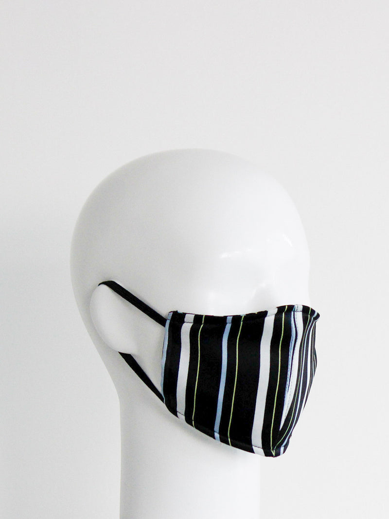 Black Stripe Mask