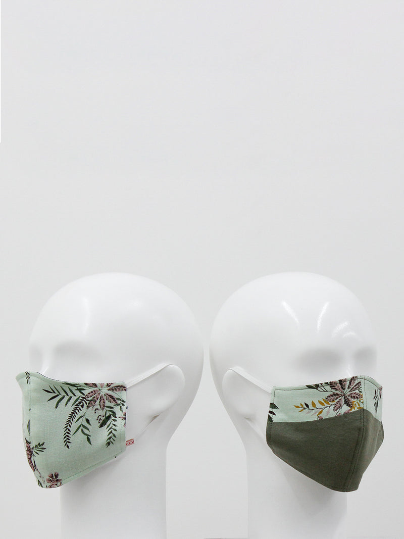 Floral Garland Mask- set of 2
