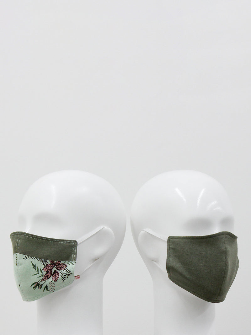 Olive Love Mask- set of 2