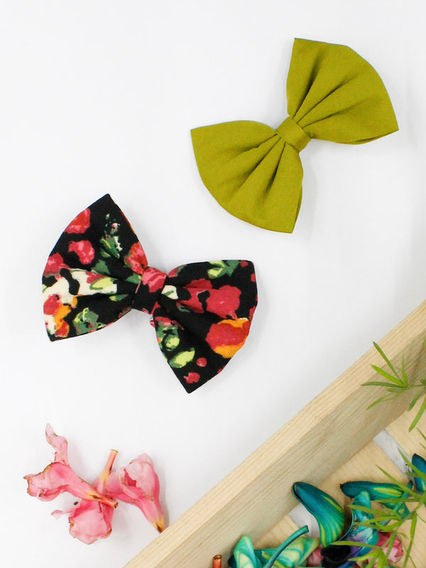 Bloom In Happiness Bow- Set of 2