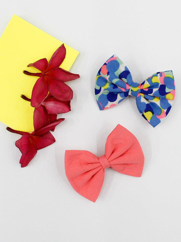 Color Me Up Bow- Set of 2