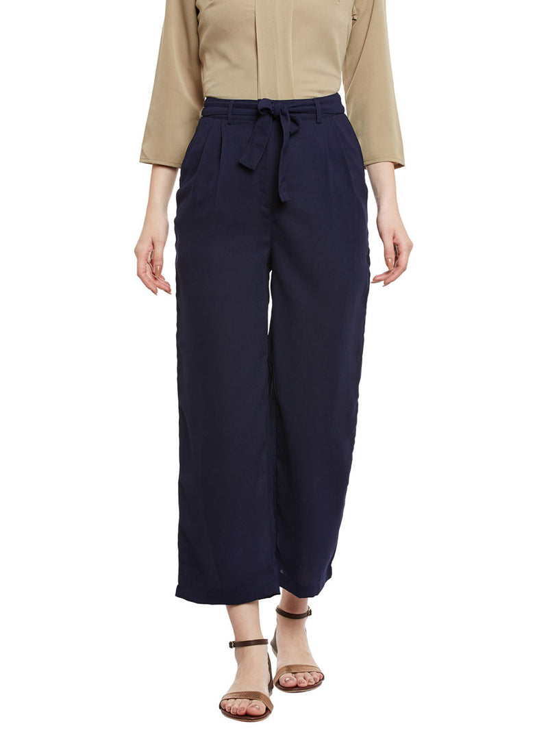 Slim Vegan Blue Pant