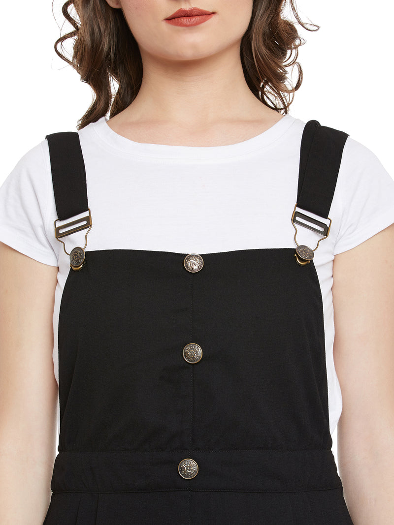 Rising Sun Black Black Dungaree
