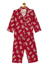 Gingerbread Kids Night Suit