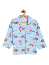 Adorable Cat Kids Night Suit