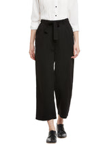 Slim Vegan Black Pant