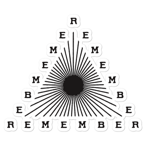 Remember Stickers (3x3, 5x5)