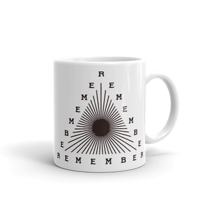 Remember Mug (Maroon)