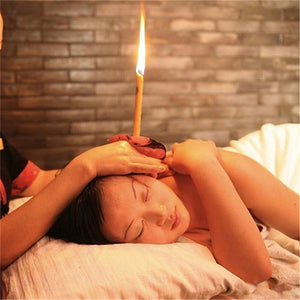 Natural Ear Wax Candle - (10 piece)
