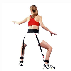Basketball Trainer - Jumping Pull Band - Tool For Adult and Child