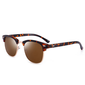 Polarized Sunglasses Retro Round