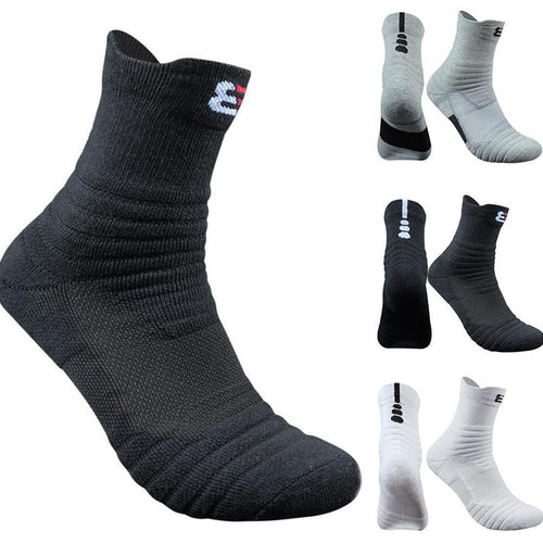 Basketball Socks Long - Thickening Towel Bottom - Cotton