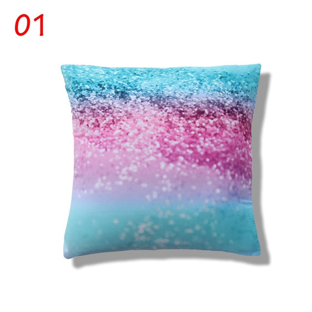 New Magical Throw Pillowcase Color Changing Reversible Pillow Case Pillow Cover DIY Mermaid White Gold Sequin Cushion Cover