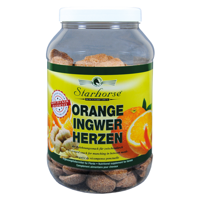 STARHORSE LECKERLI ORANGE-INGWER-HERZEN