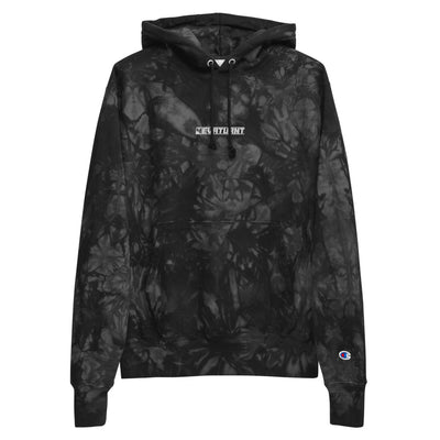 Champion tie-dye hoodie (Embroidered)