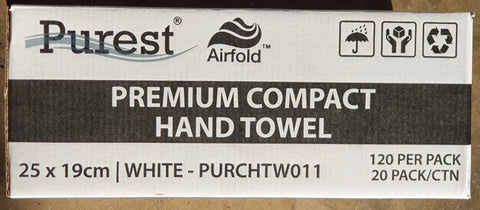 E070 - Hand Towel Compact Airfold Purest
